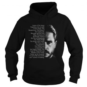 Jon Snow Aegon of the house Targaryen Hoodie