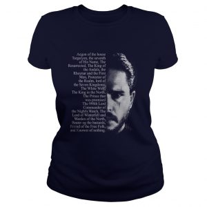 Jon Snow Aegon of the house Targaryen Ladies Tee