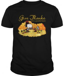 Snoopy and woodstock give thanks with a grateful heart Guys