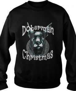 Doberman Christmas Good Dog Sweater