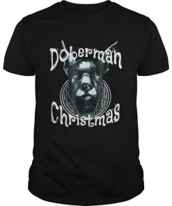 Doberman Christmas Good Dog Unisex