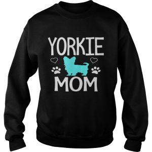 Love Yorkie Mom Yorkshire Terrier Sweater