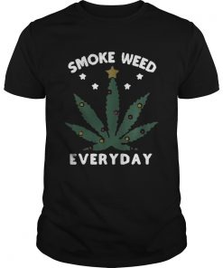 Snoop dogg smoke weed everyday christmas Unisex Tee