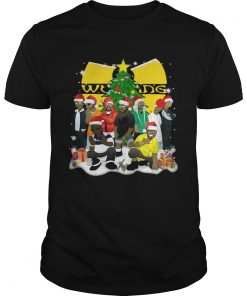 Wu Tang Clan Christmas Simpsons Unisex Tee