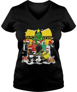 Wu Tang Clan Christmas Simpsons Vneck