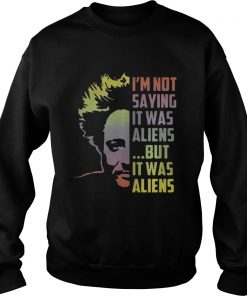 Giorgio A Tsoukalos I'm not saying it was aliens but it was alien Sweater