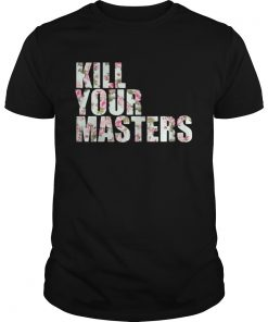 Kill Your Masters Floral Guys Tee