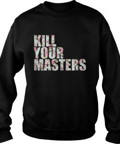 Kill Your Masters Floral Sweater