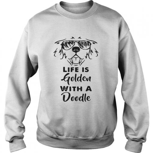 Life is golden with a Doodle Sweater