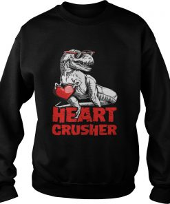 Valentines Trex Heart Crusher Sweater