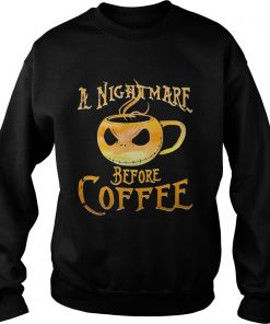 A nightmare before coffee Sweater