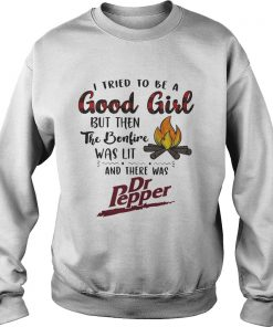 I tried to be a good girl but then the Bonfire was lit and there was Dr Pepper Sweater