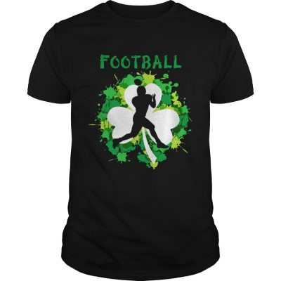 Football Shamrock Irish St Patty's Day Sport Shirt For Football Lover Guys shirt