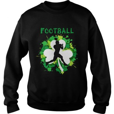Football Shamrock Irish St Patty's Day Sport Shirt For Football Lover Sweater