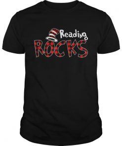 Reading Rocks Plaid Version Guys Shirt