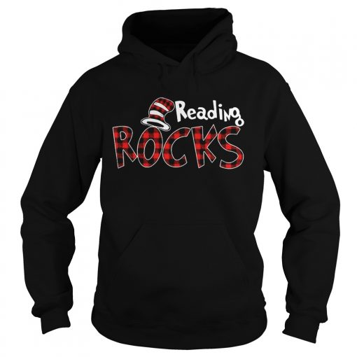Reading Rocks Plaid Version Hoodie