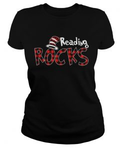Reading Rocks Plaid Version Ladies Shirt