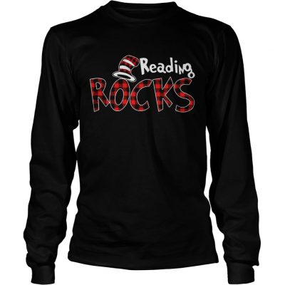 Reading Rocks Plaid Version Longsleeve Shirt