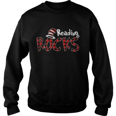 Reading Rocks Plaid Version Sweater
