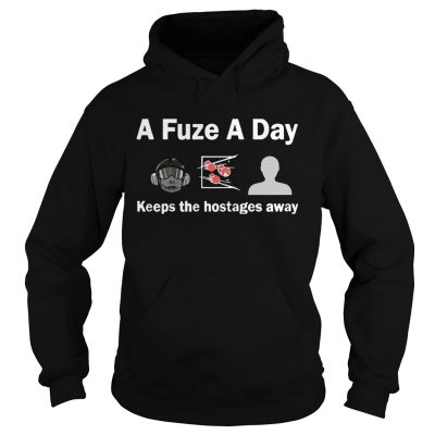 A Fuze A Day Keeps The Hostage Away Funny Gaming Hoodie