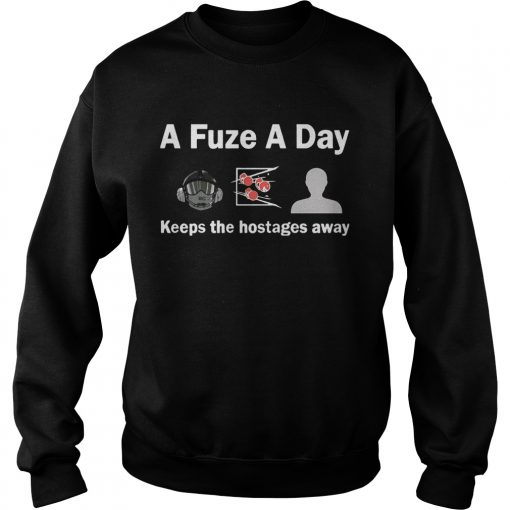 A Fuze A Day Keeps The Hostage Away Funny Gaming Sweater