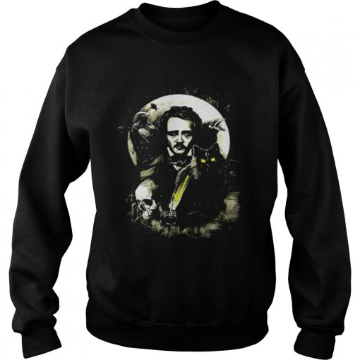 The Raven and The Black Cat Edgar Allan Poe Sweater
