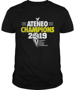 Ateneo Champions 2019 Ateneo Lady Eagles UAAP81 champions Unisex Shirt