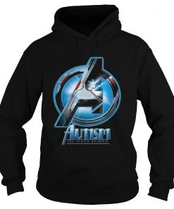Avengers autism my superpower Hoodie