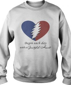 Begin Each Day With A Grateful Heart Sweater