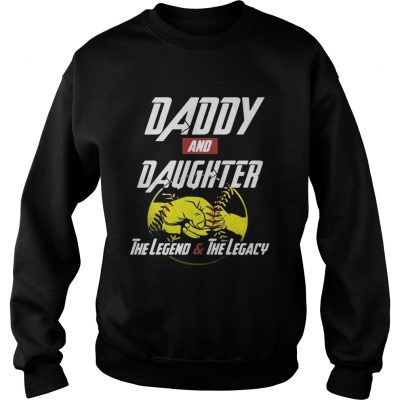 Daddy and daughter the legend and the legacy Sweater