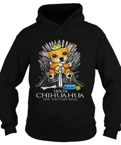 Game of Bones House Chihuahua shit just got real Game of Thrones Hoodie