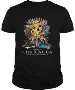 Game of Bones House Chihuahua shit just got real Game of Thrones Unisex Shirt