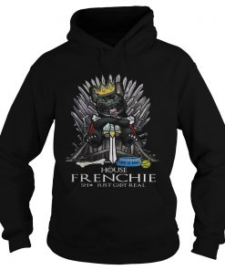Game of Bones House Frenchie shit just got real Game of Thrones Hoodie