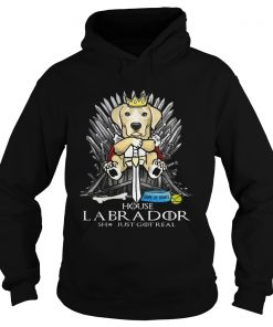 Game of Bones House Labrador shit just got real Game of Thrones Hoodie
