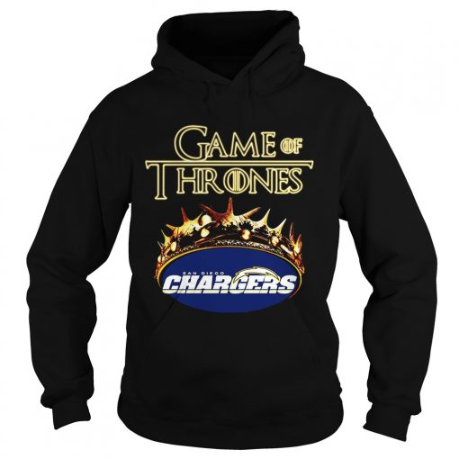 Game of Thrones Los Angeles Chargers mashup Hoodie