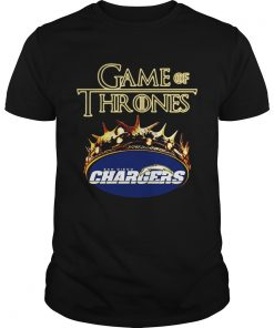 Game of Thrones Los Angeles Chargers mashup Unisex Shirt