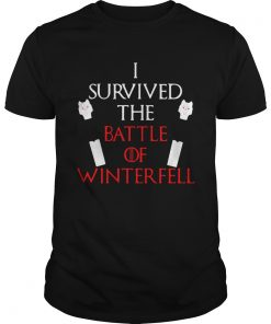 Longclaw of Jon Snow I survived the battle of Winterfell Game of Thrones Unisex Shirt