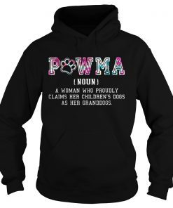 Pawma Definition Mama Grandma Aunt Dog Mother day Hoodie