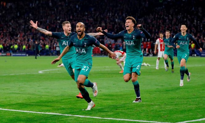 Tottenham shocks Ajax in stoppage time to reach first Champions League final