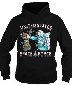 United States space force astronaut punching alien Hoodie