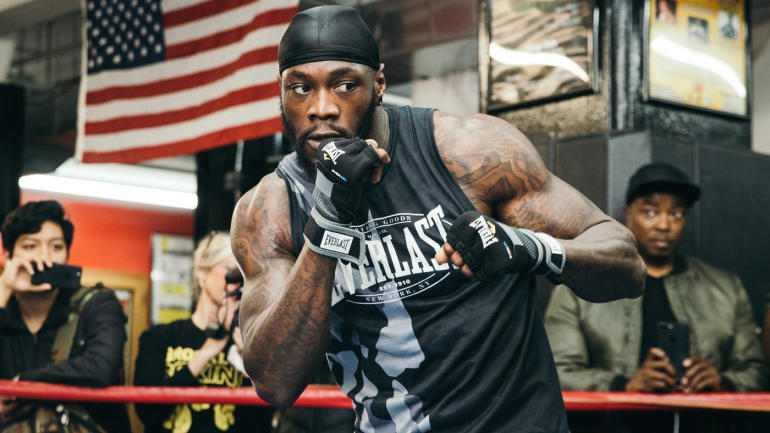Deontay Wilder on Dominic Breazeale 'His life is on the line for this fight and I do mean his life'