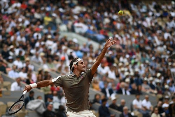 Same Old Roger Federer Shines at the New-Look French Open