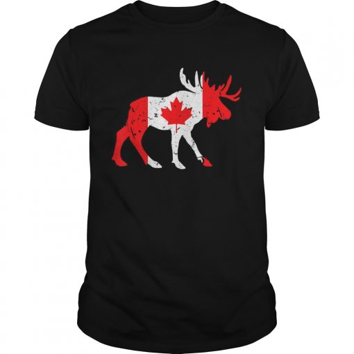 Canada Maple Leaf Animal Canadian Flag Happy Canada Day  Unisex