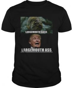 Fish large mouth bass Trump Large mouth ass  Unisex