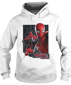 Marvel Spiderman far from home web frame  Hoodie