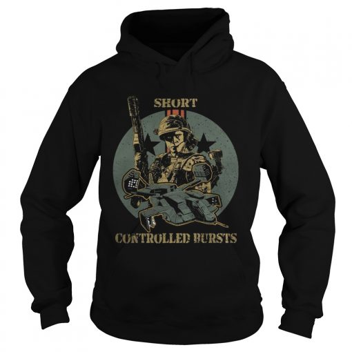 Soldier short controlled bursts  Hoodie