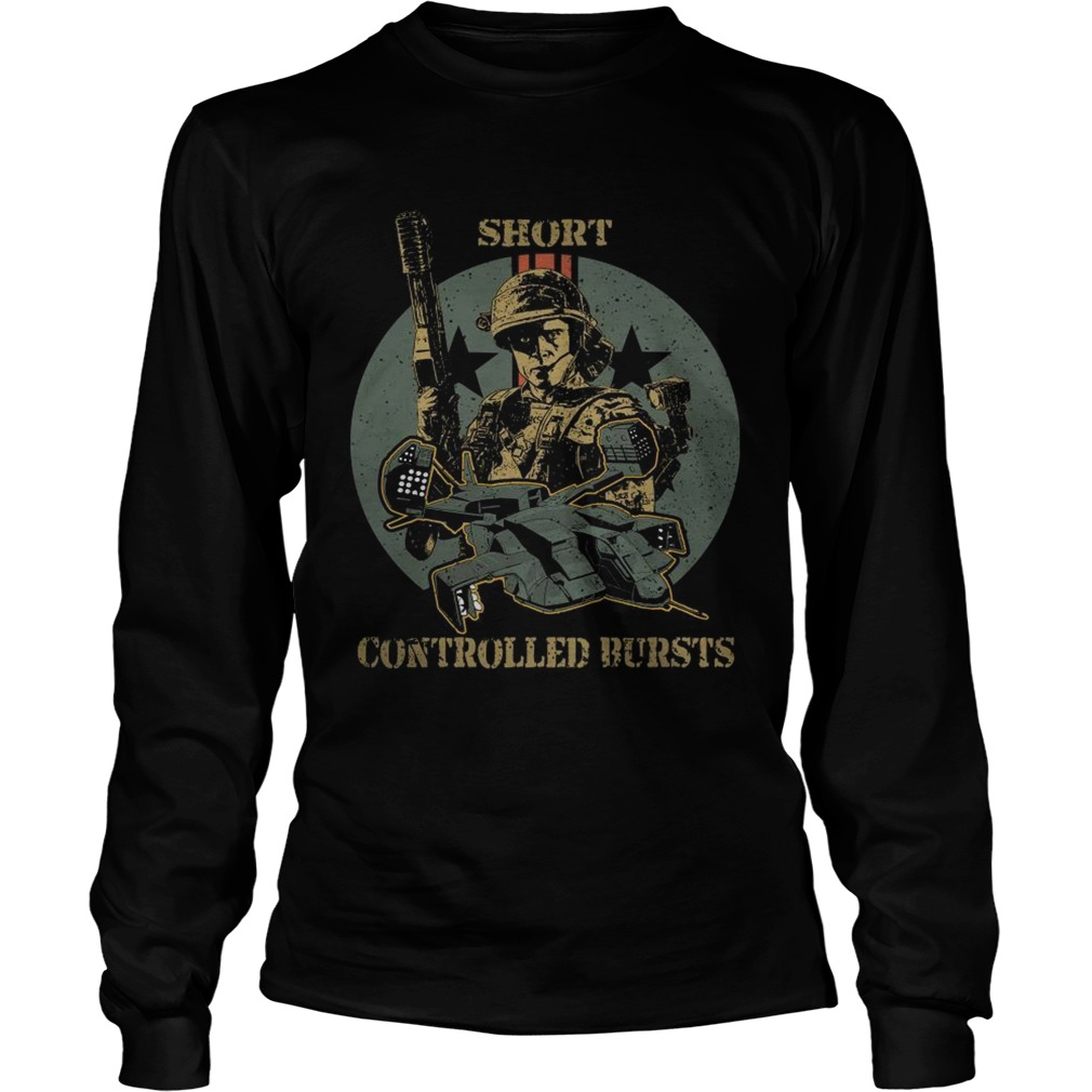 Soldier short controlled bursts LongSleeve