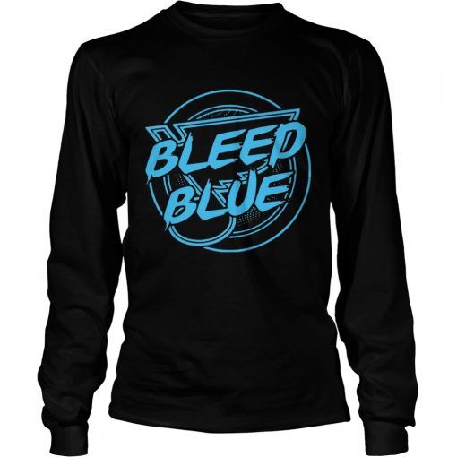 St Louis Blues Bleed Blue T LongSleeve