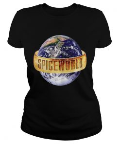 Trends Funny Earth Spiceworlds Spices Girls Premium T Classic Ladies