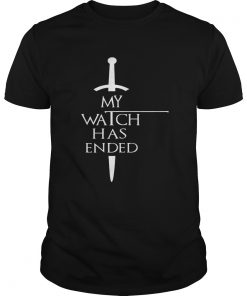 Trends Funny My Watch Has Ended Men T Unisex